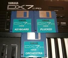 Yamaha DX7IIFD  - 3 x floppy disk