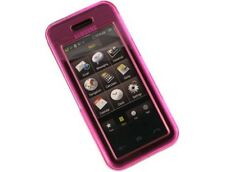Hard Plastic Phone Case Protector Hot Pink Cover For Samsung Instinct M800