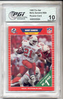 Barry Sanders 1989 Pro Set Rookie Card PGI 10 OSU LIONS