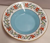 Vintage Shelley China Art Deco Saucer Handpainted 11245/25 c1916-25 Norman Shape