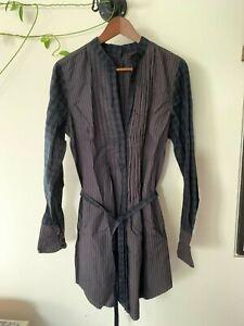 Religion - shirt dress - stripe / tratan - size L/14/42