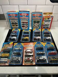 13 x Matchbox and Tesco Vintage Vehicle Gift Sets (lot 47)