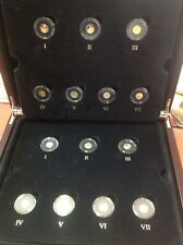 👉Smallest Gold Coins of the World Collection - Macquarie Mint- Inc. Timber Case
