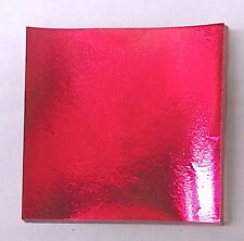 Fuschia Candy Foil Wrappers Confectionery Foil 125 count