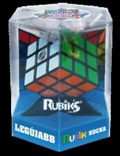 Original 3x3 Rubik Studio Stickerless Speed Cube Shock Resistant Speedcubing NEW