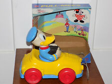 Kohner Disney Toy Pull-Mees Donald in Box