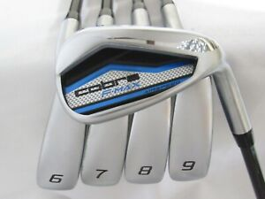 Used RH Cobra F-MAX Air Speed Iron Set 6-P Regular Flex Graphite Shafts