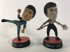 """Bruce Lee Pair Of Vintage Action Figures Collectible 3 ½"""" Tall"""