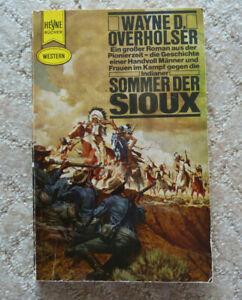 "Western-TB, Wayne D. Overholser:""Sommer der Sioux"", Heyne TB Nr. 2181"