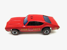 HOT WHEELS REDLINE FLYING COLORS CHIEF'S SPECIAL FIRE DEPT