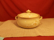 Denby China Daybreak Pattern 1.5 Qt Round Covered Casserole