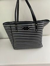 kate spade handbag tote Blue And White Stripe