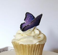 Edible Butterflies, 3-D Double-Sided, Wafer Paper Cake and Cupcake Decorations
