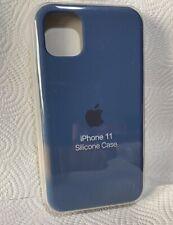 Original Apple iPhone 11 Silikon Case in Kobaltblau