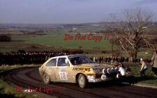 Russell Brookes VAUXHALL CHEVETTE HSR 2300 RAC Rally 1982 fotografia 1