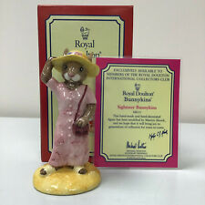 Bunnykins Sightseer DB215 Royal Doulton With Original Box And Certificate