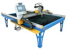 CNC plasma cutter 1300x2500m optional Hypertherm or cutmaster 4x8 table