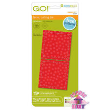 """Accuquilt GO! Baby Cutting Die Square 3 1/4"""" Quilting Sewing 55317"""