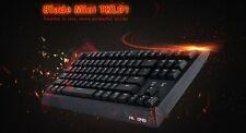 Velocifire TKL01 Mechanical Keyboard with Brown Switches LED Backlit 87 Keys