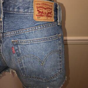 Vintage Levi's 501 Cut Off Jean Shorts