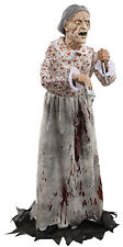 HALLOWEEN LIFE SIZE MOTHER  GRANNY BATES HOTEL  PROP DECORATION HAUNTED HOUSE