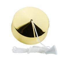 Volex 6A 2 Way Pull Switch Polished Brass Finish Bathroom Ceiling VX9002PB