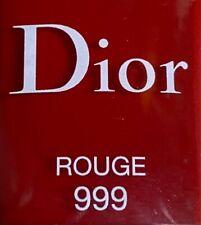 Dior nail polish 999 ROUGE limited edition BNIB
