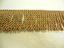 Gold Acetate Bullion Conso Princess Collection 3 Inch Fringe By The Yard