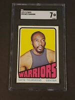 1972-73 Topps #28 Nate Thurmond SGC 7 NM Newly Graded