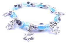 Étoile De David Magen Bracelet Kabbale Mauvais Oeil Lucky Eye Judaica Main Hamsa