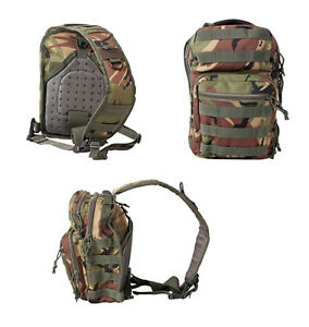 Army Military Day Pack Combat Bag Over Shoulder Travel Rucksack Bergen Molle DPM