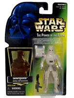 Star Wars The Power of the Force Snowtrooper with Imperial Issue Blaster Riffle