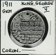 1911 GKM King George V/Queen Mary Coronation Medal