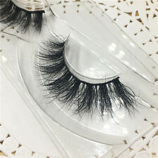 Lashes Pure 3D Mink Thick False Fake Eyelashes Extension Multilayer Messy A02