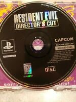 Resident Evil Director's Cut Greatest Hits (Sony PlayStation 1, 1998) no case