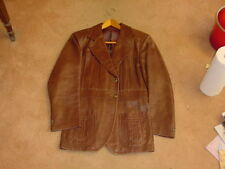 Leather dress jacket Imported From Spain In the 1980s Hardly worn