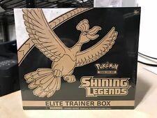 Shining Legends Elite Trainer Box Pokemon TCG Sealed