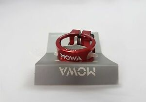 Mowa 7075 Alloy Road MTB Mountain Bike Seatpost Clamp 31.8mm / 34.9mm Red