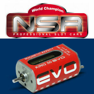 NSR 3030 King Evo Long Can 50,000 RPM Motor 1/32 Slot Car 50K