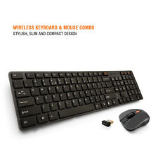 Amkette Optimus Wireless Keyboard and Mouse Combo