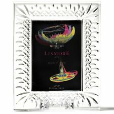 """Waterford Crystal Lismore 60th Anniversary 3.5"""" x 5"""" Frame"""