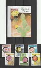 Sahara Republic 1998 Cacti Set & Mini Sheet CTO