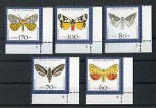 """BUND Nr.1602-1606 ** ECKRANDSATZ rechts unten FORMNUMMER """"2"""" !!! (128519)"""