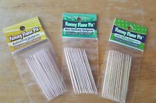 Yummy Toothpicks 3 Flavors- BUTTERSCOTCH, MINT CHOCOLATE and SOUR APPLE