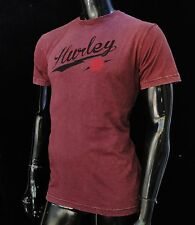 Hurley Surfing Classic Wine Color Mens T shirt Size Small HRL-64