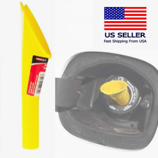 Capless Gas Tank Funnel Adding Fuel Diesel Additives from Portable Container Car
