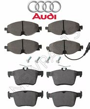 For Audi A3 e-tron Quattro 15-16 Pair Set Of Front & Rear Brake Pad Set Genuine