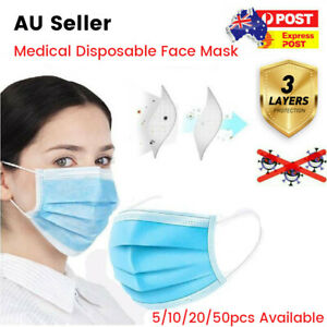 Anti Air Pollution Face Mask Respirator Mouth Cover Filter - 20/40/50Pcs