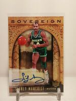 2018-19 Panini Court Kings Sovereign Sidney Moncrief Auto 133/149 SP Bucks