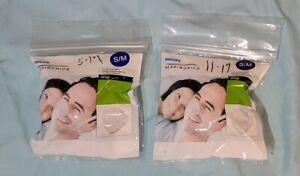 Set of 2: Philips Respironics Wisp Nasal Cushion 1094087, Small / Medium